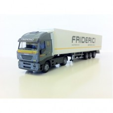 C078 - Iveco Stralis sheeted semi-trailer 1:87