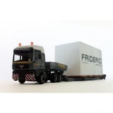 C186 - MAN semi-trailer extra-low 1:87